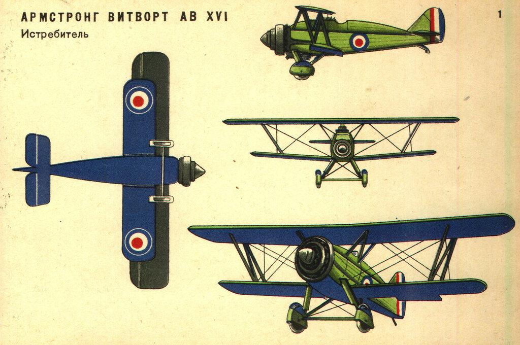 Военные самолеты Англии (1934) 01