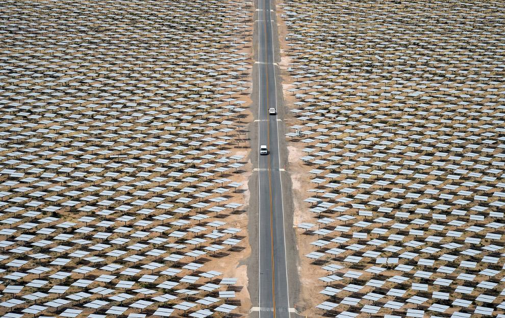 Солнечная электростанция Айванпа. (Фото Ethan Miller | Getty Images):
