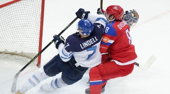 Сборная Российской Федерации проиграла Финляндии вполуфиналеЧМ похоккею