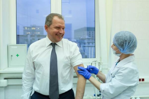 «Мосробот» уведомит жителей столицы о местоположении мобильных прививочных пунктов