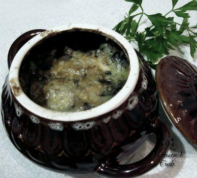 Тушеные овощи с рыбой в горшочках