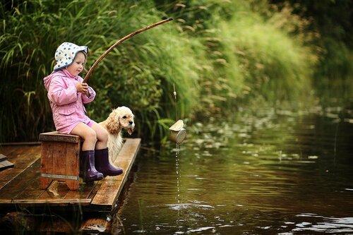поход на рыбалку