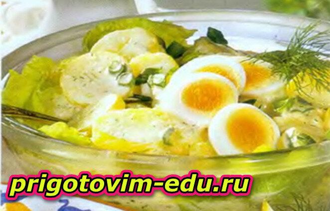 Готовим Картофельный салат
