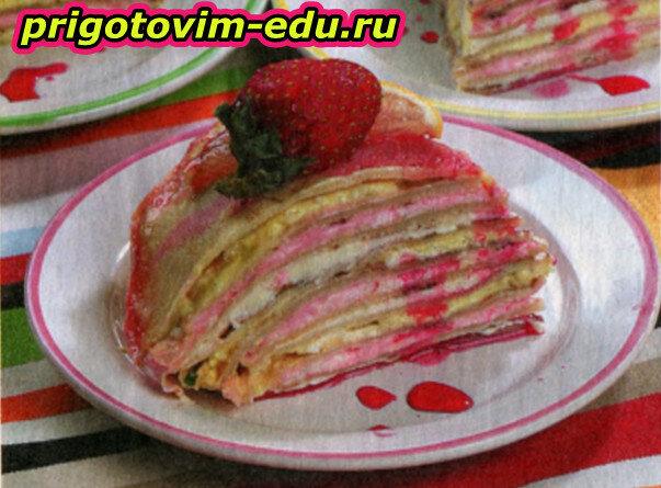 Десертный пирог с мороженым