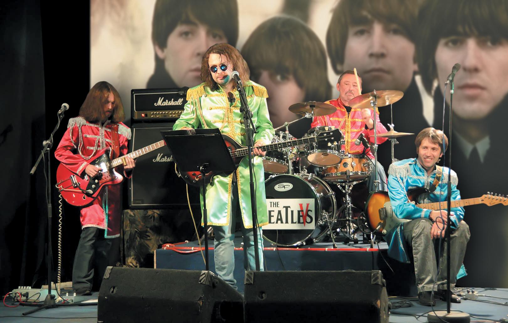 Кавер-группа The Beatlevs (Львов) на VI битломанский фестиваль искусств «All We Need Is Love&Peace! (Всё, что нам нужно, - это Любовь и Мир!)»