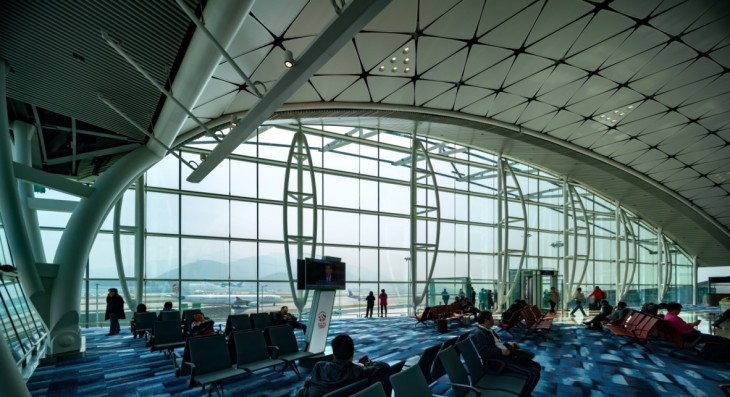 Hong Kong International Airport Midfield Concourse by Aedas