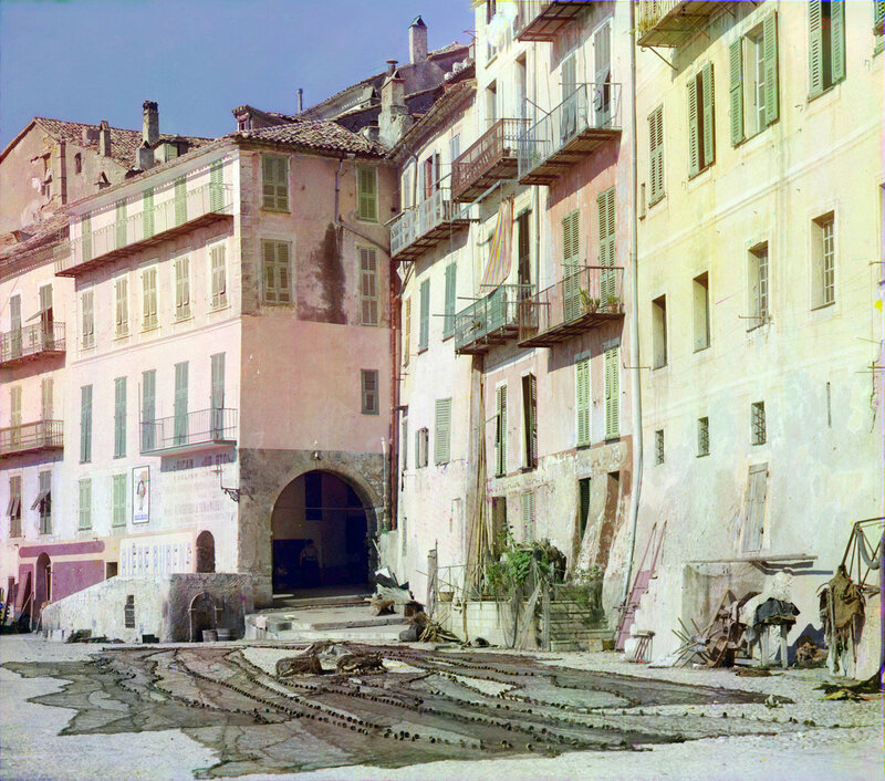 Вильфранш-сюр-Мер Франция предположительно 1906 год Прокудин-Горский.jpg