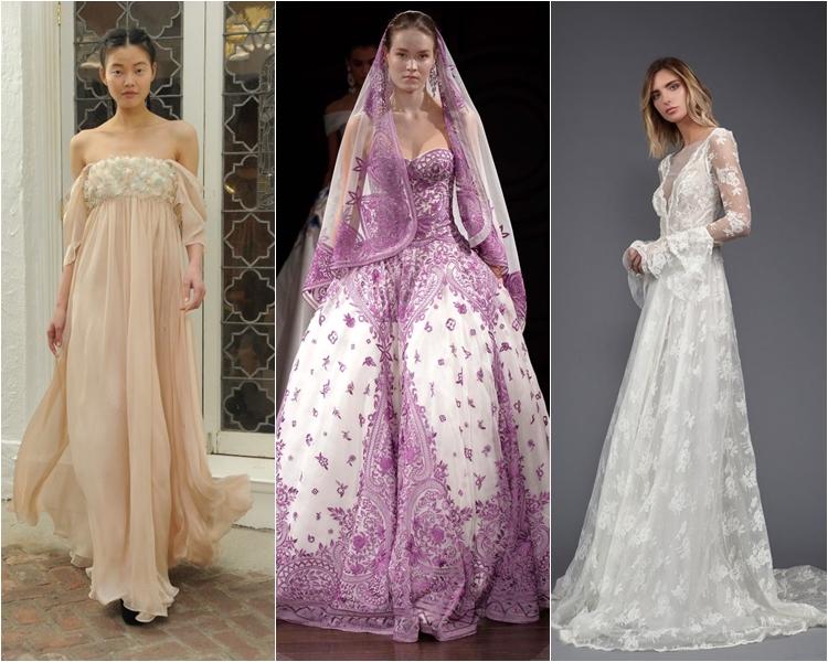 Модные свадебные платья весна-2017: старинные