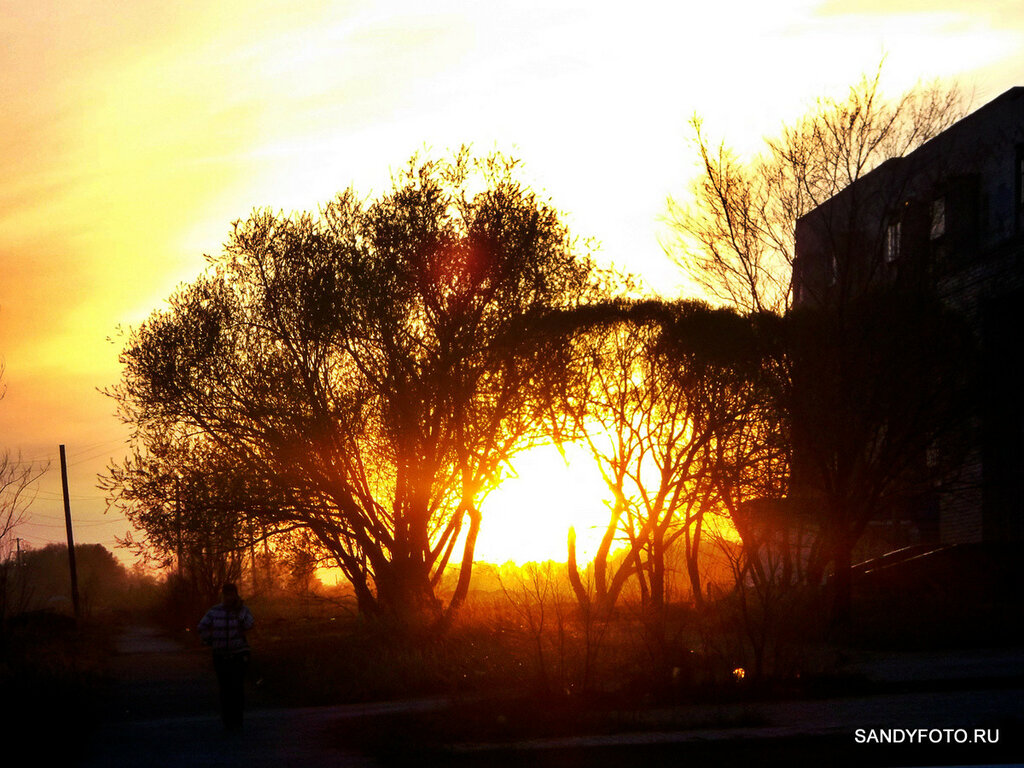 Очередной закат в Троицке