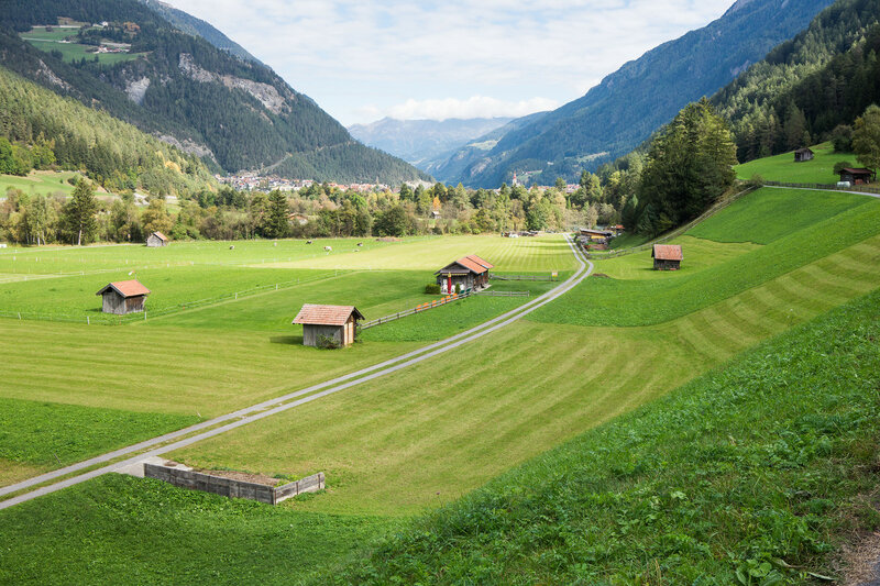 веломаршрут Via Claudia Augusta, Альпы, Австрия