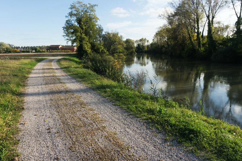 веломаршрут вдоль реки Силе (fiume sile)