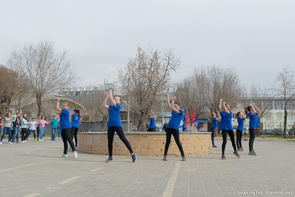 Спортивный праздник в сквере им. Саши Филиппова