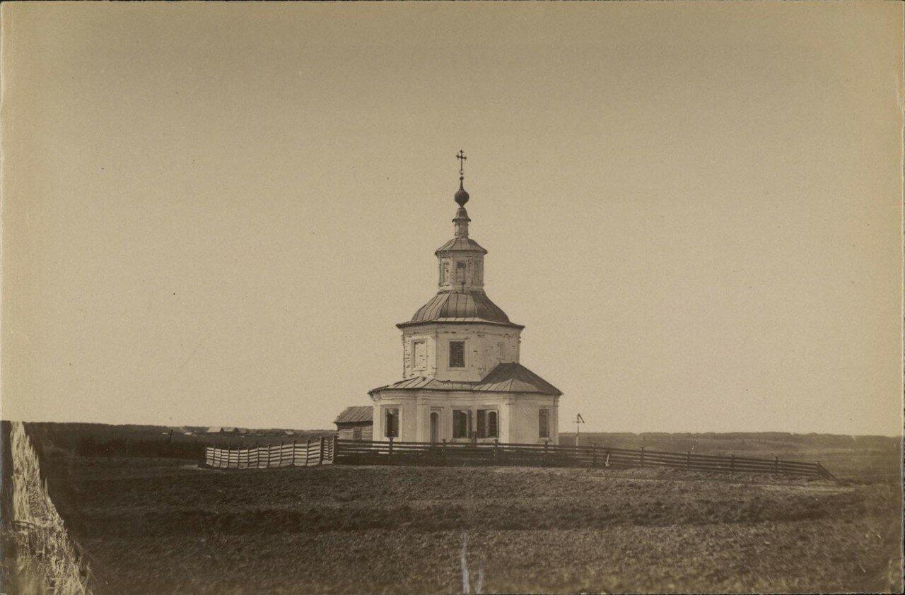 Окрестности Великого Устюга. Церковь святого Иоанна Устюжского