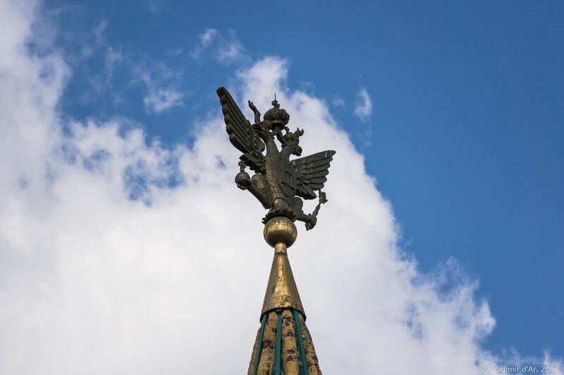Часовая башня Передних ворот. Коломенское.