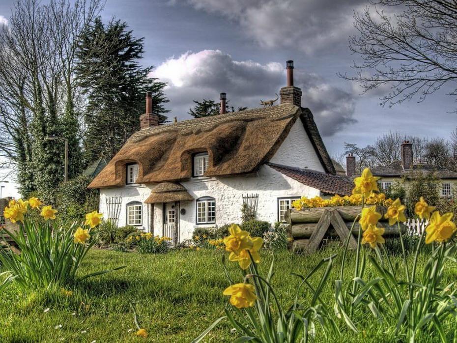 Симпатичные домики английской провинции