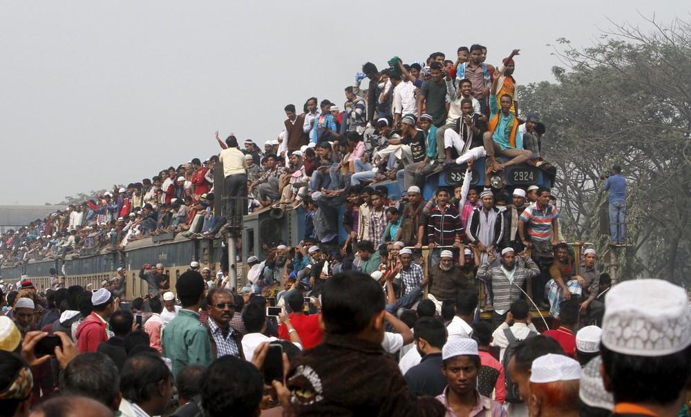 Снимки повседневной жизни в Бангладеш