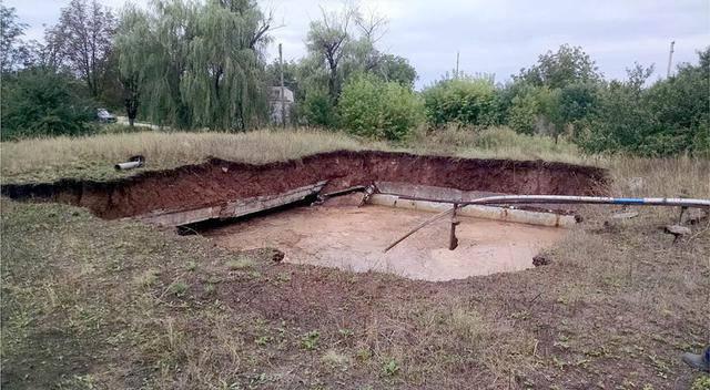 Углегорская ТЭС пострадала в результате артиллерийского обстрела боевиков. ФОТОрепортаж