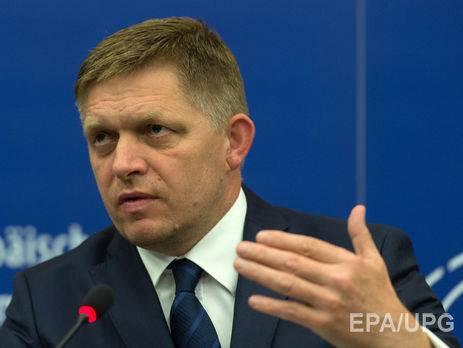 Украина делает для выполнения минских соглашений меньше, чем Россия, - премьер Словакии Фицо