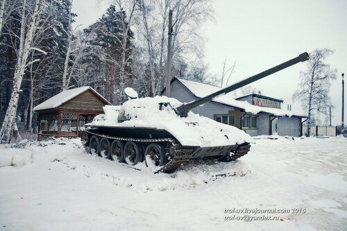 "Т-54 у федеральной трассы ""Иртыш"", Курган"