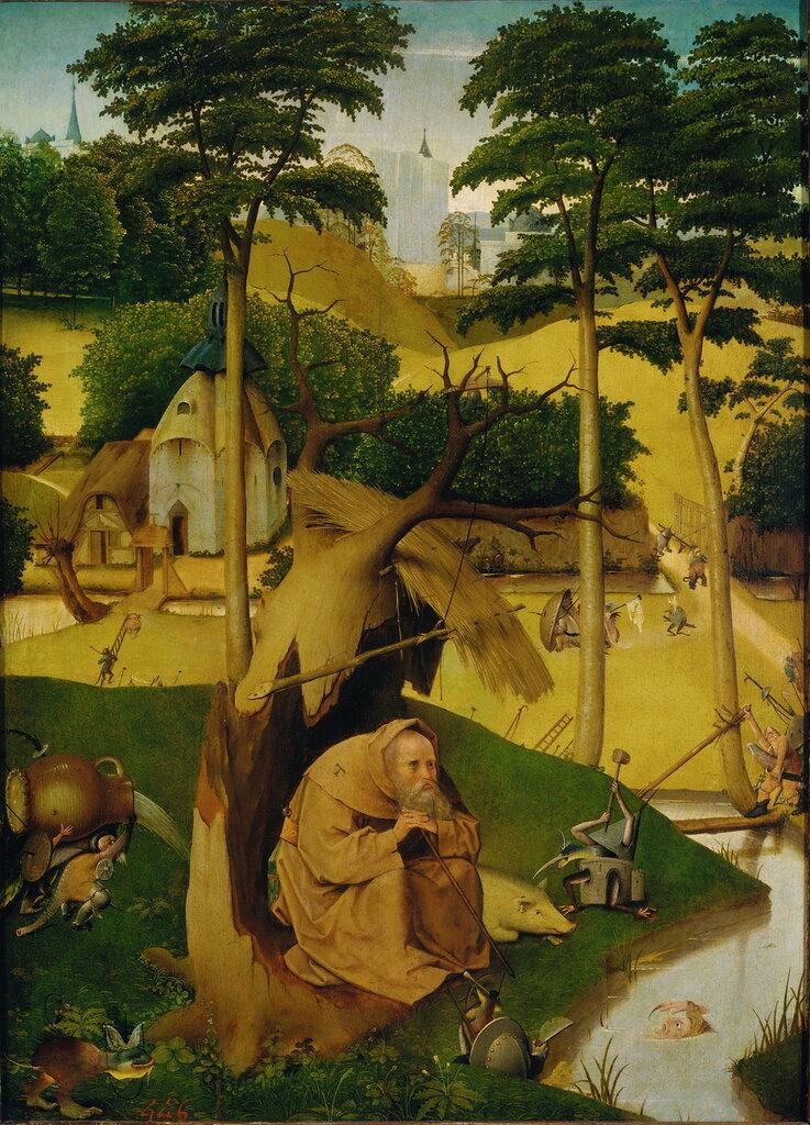 29.1.Искушение св.Антония (ок.1510) (73 х 52.5) (Мадрид, Прадо).jpg
