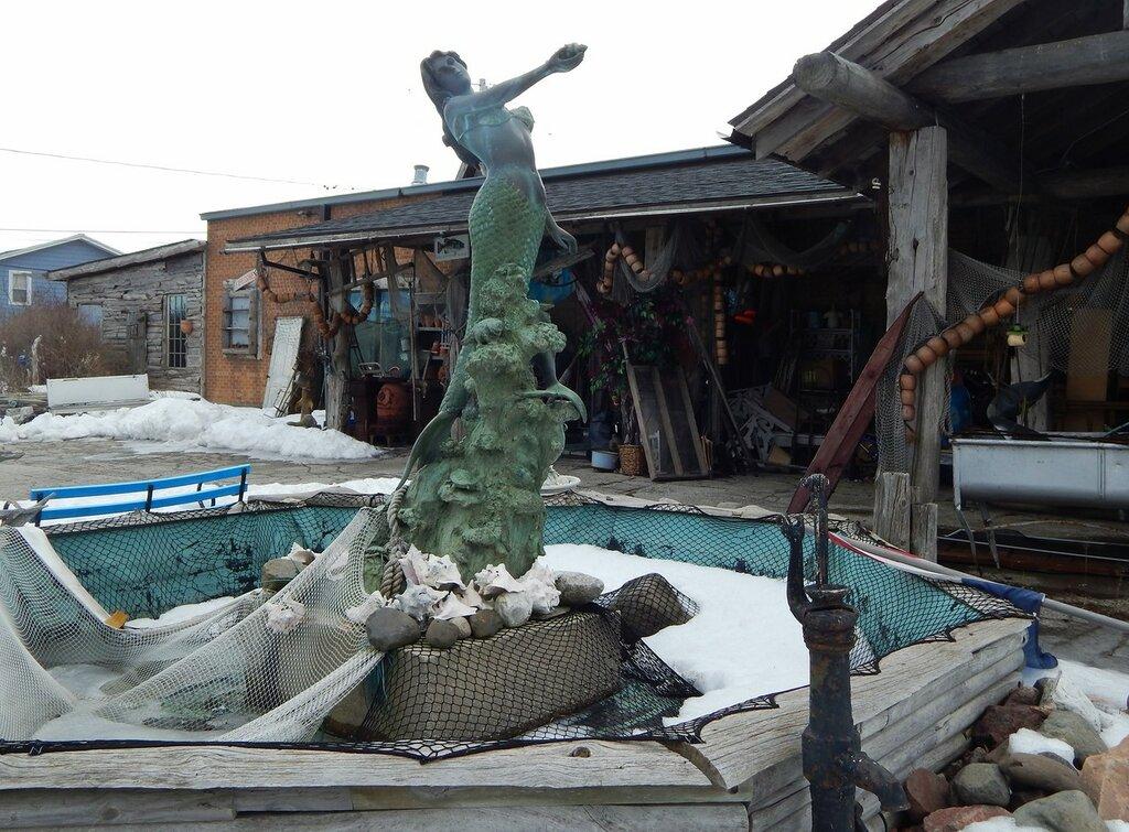 г.Кивани у озера  Мичиган.