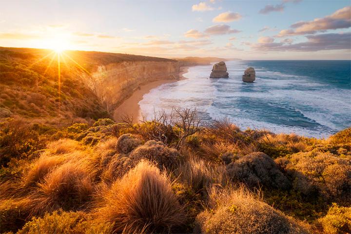 солнце в Австралии