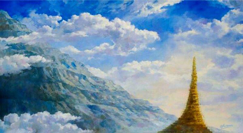 Владимир Ильич Калинин (родился в 1966 году). Вавилонская башня.