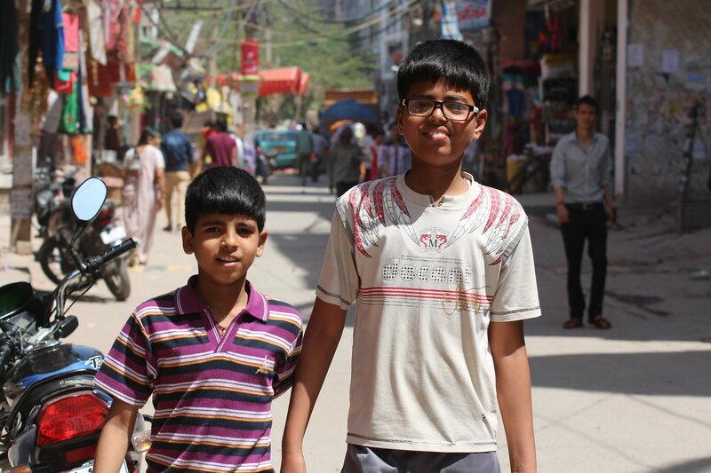 Мальчики-индусы