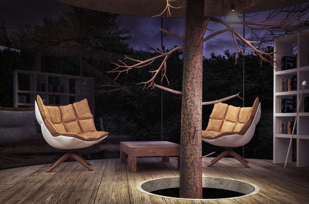 А вечером здесь можно в тишине почитать книгу. Прямо рай для интроверта.