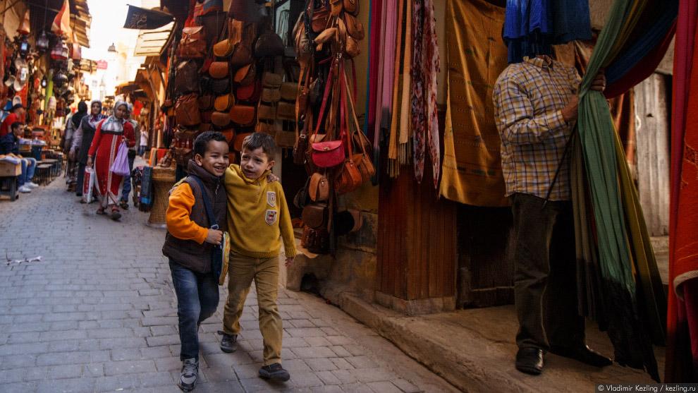 26. Фес — научная, духовная и религиозная столица Марокко. Его часто называют «Западной Меккой»