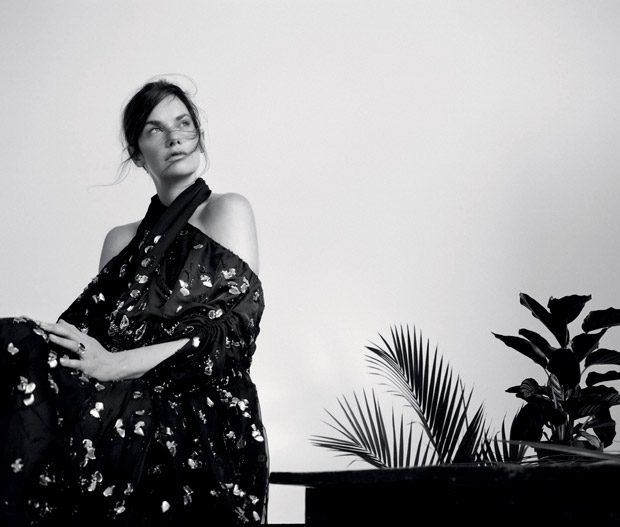 Рут Уилсон в Marie Claire