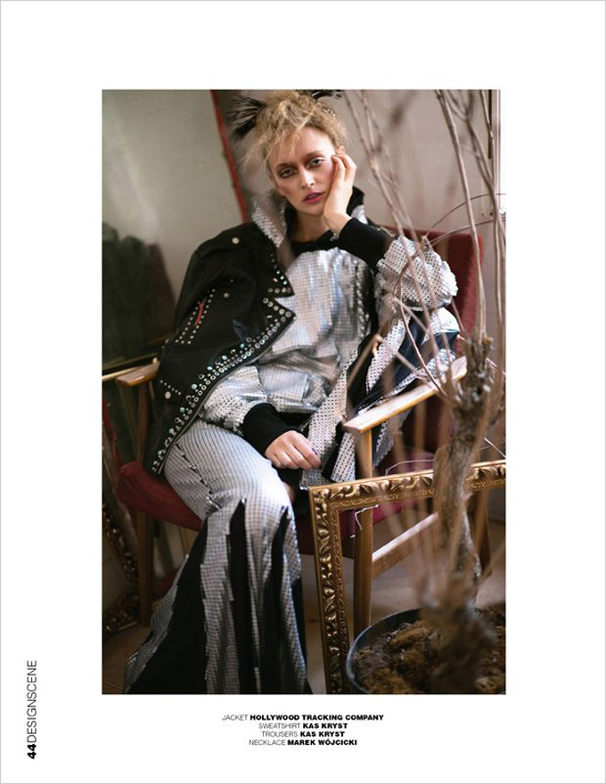 "История ""Portrait of a Lady"" в Design SCENE Magazine"