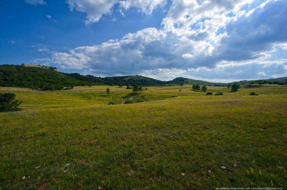 Пейзажи Крыма. Гора Коба-Кая: