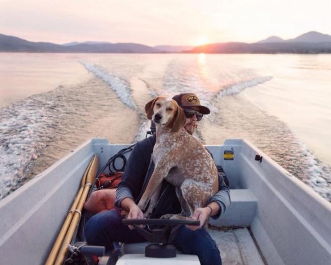 Когда фотограф Терон Хамфри увидел эту собаку вприюте, онподумал: «Боже мой, янемогу остави