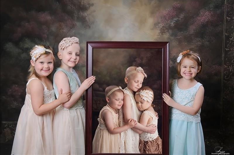 Источник: kulturologia.ru Три девочки, победившие рак: разница между двумя фотографиями — два года.