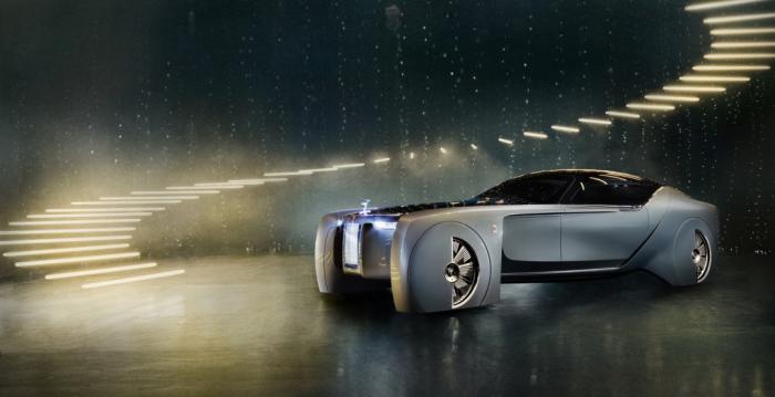 Как будет выглядеть легендарный Rolls-Royce в будущем?