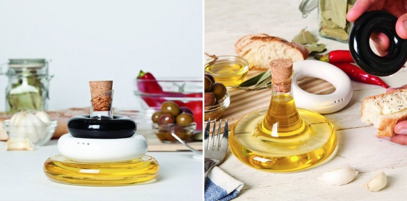 1. Набор емкостей для специй и масла