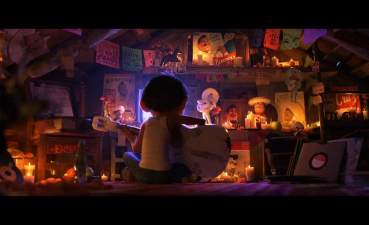 Вышел трейлер мультфильма студии Pixar про Страну Мертвых