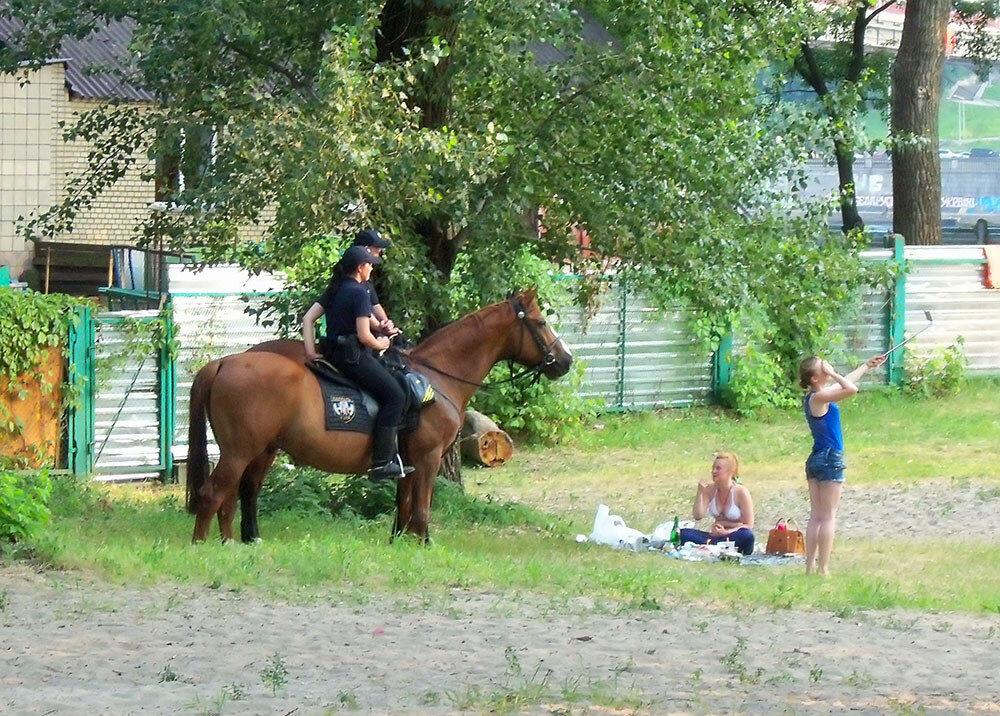 выйду я на селфи с конем