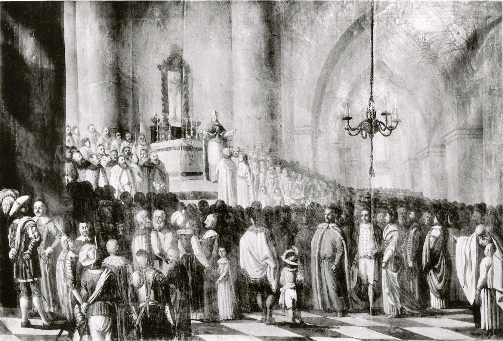 125 Бракосочетание Марины Мнишек в Кракове