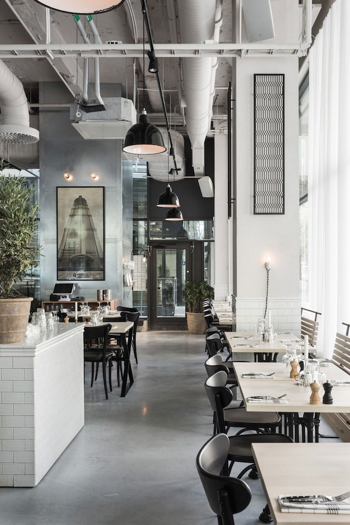 Usine Restaurant Interior by Richard Lindvall
