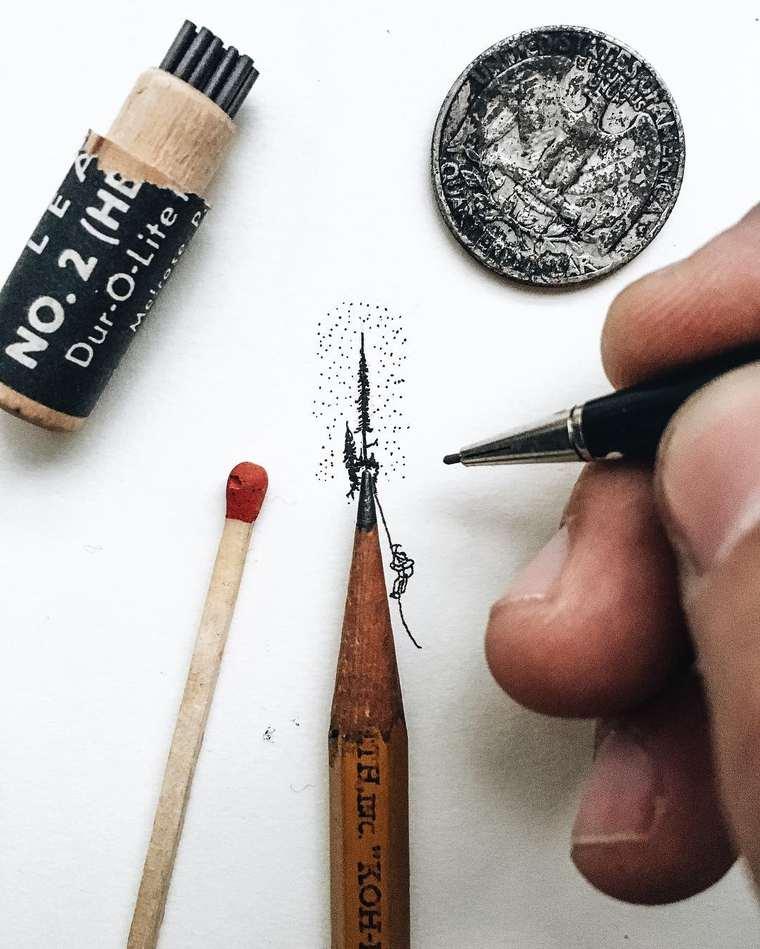 Tiny World - The creative miniature illustrations of Christian Watson