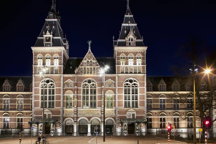 Rijks Museum a Amsterdam.