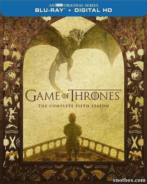Игра престолов (5 сезон: 1-10 серии из 10) / Game of Thrones / 2015 / ДБ (Amedia), ПМ (LostFilm, FOX, AlexFilm), СТ / BDRip (1080p)