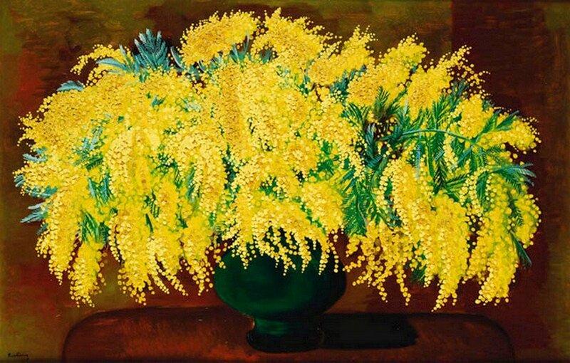 Moise Kisling(1891-1953) Mimosa.jpg