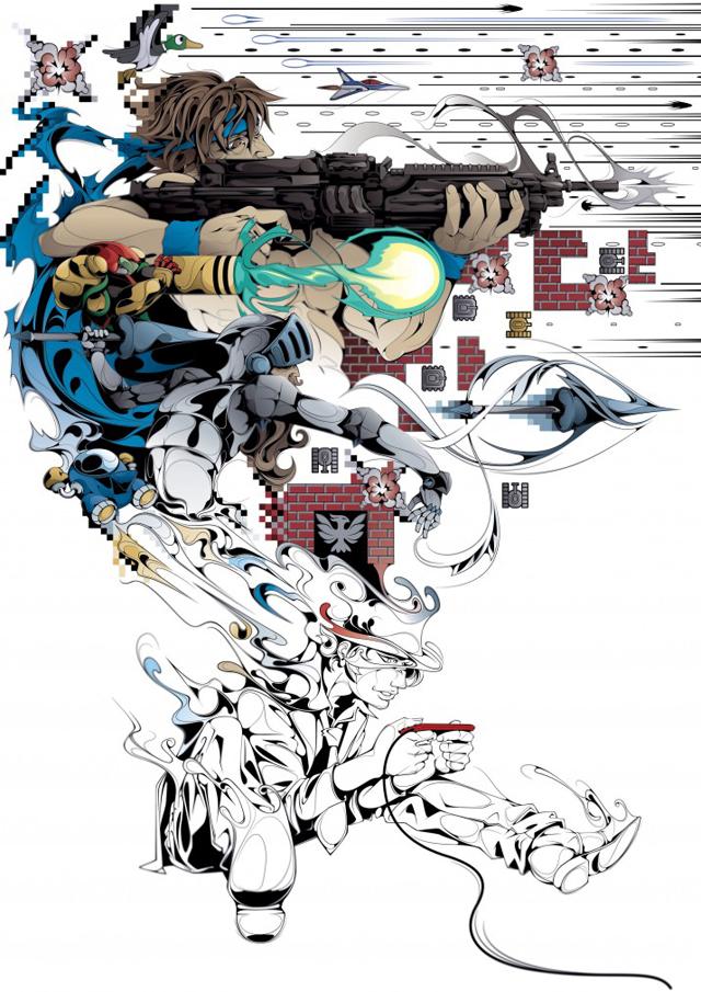 Impressive Illustrations by Man Tsun