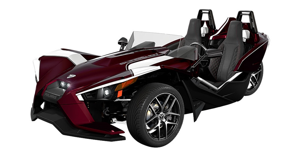 Спорт-трайк Polaris Slingshot SL LE Midnight Cherry 2017
