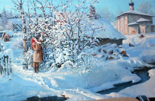 Очарование зимы Владимир Жданов