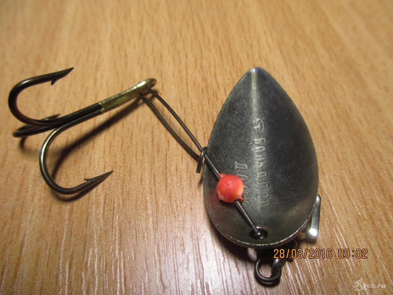 рыбалка без блесны