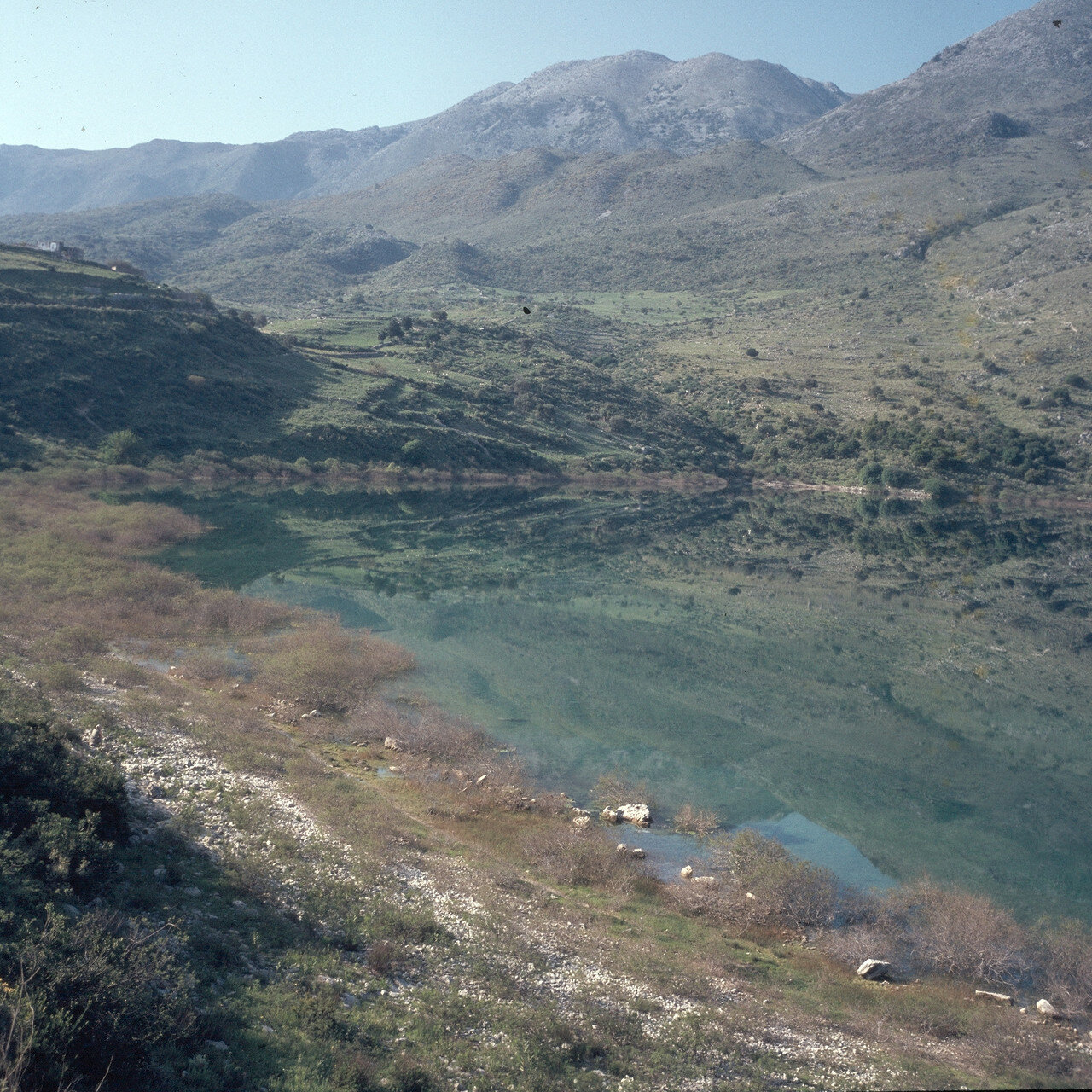 Эпископи. Озеро Курна. 1968